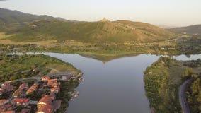 Vista aérea de Mtskheta, Geórgia vídeos de arquivo