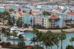 Vista aérea de Nassau Fotos de archivo