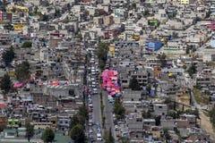 Vista aérea de Naucalpan Foto de Stock