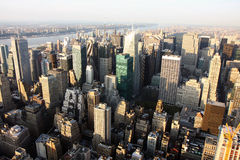 Vista aérea de New York Foto de Stock Royalty Free