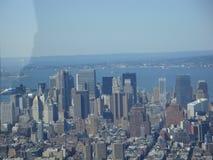 Vista aérea de New York Fotografia de Stock Royalty Free