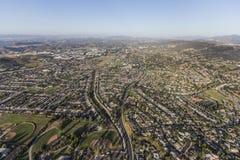 Vista aérea de Newbury Park Califórnia Imagens de Stock Royalty Free