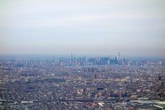Vista aérea de NY Fotografía de archivo libre de regalías