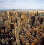 Vista aérea de NYC stock de ilustración
