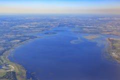 Vista aérea de Orlando foto de stock royalty free