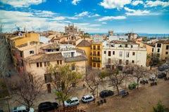 Vista aérea de Palma de Mallorca Imagens de Stock Royalty Free