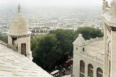 Vista aérea de París. Fotografía de archivo