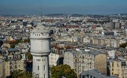 Vista aérea de París, Francia imagen de archivo