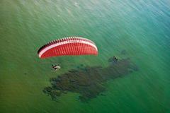 Vista aérea de Paramotor foto de stock royalty free