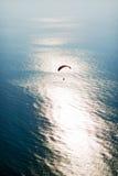 Vista aérea de Paramotor imagem de stock royalty free