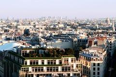 Vista aérea de Paris Imagens de Stock