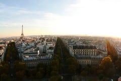 Vista aérea de Paris Foto de Stock Royalty Free