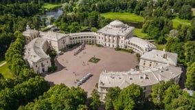 Vista aérea de Pavlovskiy Dvorets fotos de stock