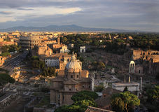 Vista aérea de Roma foto de stock royalty free