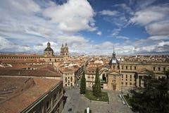 Vista aérea de Salamanca, Espanha imagem de stock royalty free
