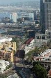 Vista aérea de San Diego Fotos de archivo