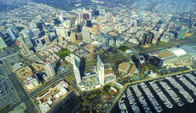 Vista aérea de San Diego do centro Fotografia de Stock Royalty Free