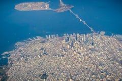 Vista aérea de San Francisco imagem de stock