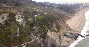 Vista aérea de San Francisco, Califórnia filme
