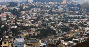 Vista aérea de San Francisco, Califórnia 4K filme