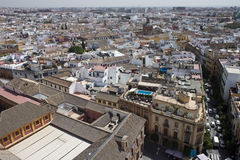 Vista aérea de Sevilla Imagen de archivo