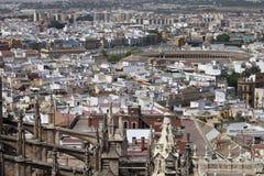 Vista aérea de Sevilla Fotografía de archivo
