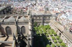 Vista aérea de Sevilla Fotos de archivo