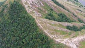 Vista aérea de Shihan Yuraktau almacen de video