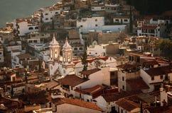 Vista aérea de Taxco, Guerrero, México fotografia de stock royalty free