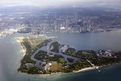 Vista aérea de Toronto Fotografia de Stock Royalty Free