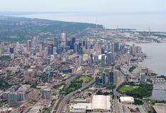 Vista aérea de Toronto do centro Fotos de Stock