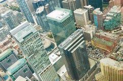 Vista aérea de Toronto do centro Imagem de Stock Royalty Free