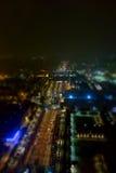 Vista aérea de Turín Imágenes de archivo libres de regalías