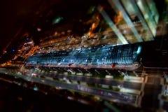 Vista aérea de Turín Fotos de archivo libres de regalías