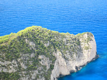 Vista aérea de uma península pequena Imagem de Stock