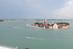 Vista aérea de Venecia Fotos de archivo libres de regalías
