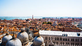Vista aérea de Veneza Imagem de Stock