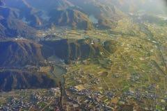 Vista aérea de Wakayama imagens de stock royalty free
