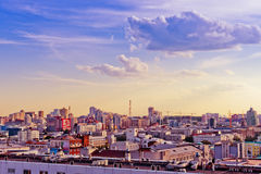 Vista aérea de Yekaterinburg o 26 de junho de 2013 Fotografia de Stock