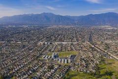 Vista aérea del área hermosa de la Arcadia imagen de archivo