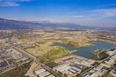 Vista aérea del área hermosa de la Arcadia imagen de archivo libre de regalías
