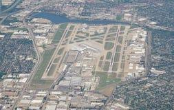 Vista aérea del aeropuerto de Dallas Love Field (DAL) Fotografía de archivo
