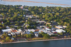 Vista aérea del beaufort Fotografía de archivo