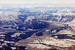 Vista aérea del chur Fotografía de archivo libre de regalías