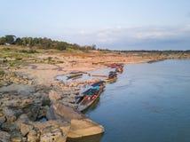 Vista aérea del Gran Cañón del bok de Samphan (bok 3000) de Tailandia Foto de archivo libre de regalías