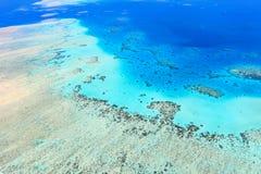 Vista aérea del gran filón de barrera Imagenes de archivo