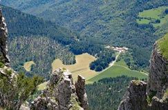 Vista aérea del La Chaudiere imagen de archivo