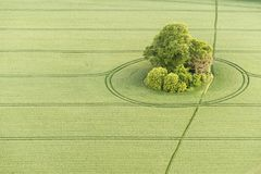 Vista aérea del paisaje de Buckinghamshire Imágenes de archivo libres de regalías