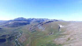 Vista aérea del paisaje de los Urales almacen de video