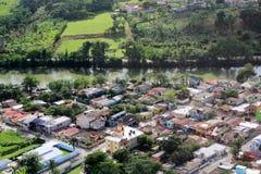 Vista aérea del río de Chavon República Dominicana Imagen de archivo